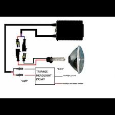 headlight delay relay