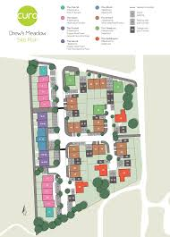 Site Floor Plan by Curo Drew U0027s Meadow