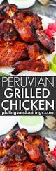 1024 best wood grilling meat images on pinterest lamb recipes peruvian grilled chicken with creamy green sauce