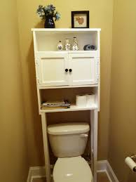 Small Bathroom Storage Cabinets Small Bathroom Storage Ideas Teak Wood Framed Wall Mirror