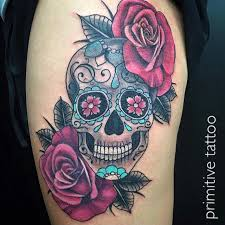 skull and roses by primitive studio perth on 126