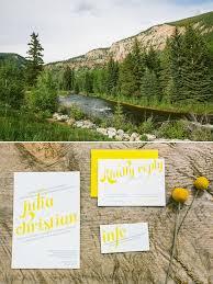 Weddings In Colorado Yellow And Grey Wedding In Colorado