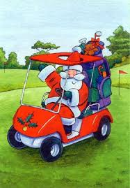 christmas golf clipart china cps