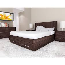Diamante Bedroom Set High Headboard Beds Modern Upholstered Pu Leather Bed With High