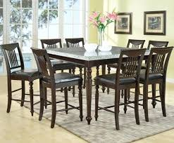 shaker espresso 6 piece dining table set with bench espresso dining table set granite top espresso counter dining table