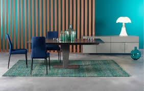 roche bobois aqua table contemporary dining table glass aluminum lacquered metal