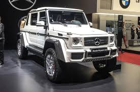 mercedes g class pics mercedes maybach g650 landaulet arrives as swansong to current g