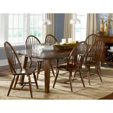 Dining Room Furniture Ct by A R T Furniture Ventura Leg Dining Table Weathered Chestnut