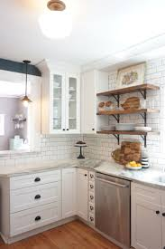 best 25 timeless kitchen ideas only on pinterest kitchens with my dream kitchen remodel white shaker cabinets marble countertops white subway tile and open shelving