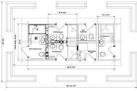 Handicap Accessible Home Plans This Is The Floor Plan For A Barrier Free Project We Had To Make