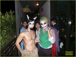 matthew morrison goes u0027pulp fiction u0027 for his halloween bash photo