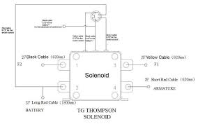 winch solenoid wiring diagram wiring diagram and schematic