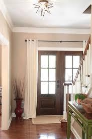 curtains for glass doors 27 best front door curtain images on pinterest front door