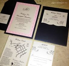 layered wedding invitations enclosure cards papercake designs
