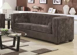 Chesterfield Sofa Set Sofa Sets 2 Microvelvet Chesterfield Sofa Set In