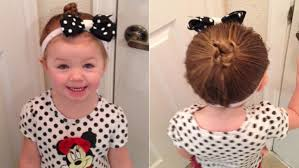 polka dot hair single learns to style toddler s hair at cosmetology school