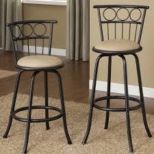 decor of metal bar stool with back amerihome 2 piece metal counter