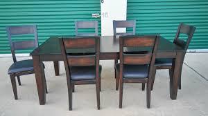 2425 7 piece star furniture dining room set espresso