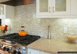 White ONYX Subway Backsplash Idea - Onyx backsplash