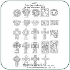 celtic crosses u0026 panels patterns u2013 classic carving patterns