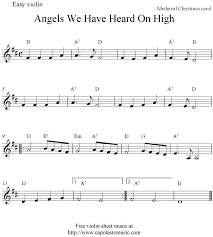 christmas violin sheet music christmas gift ideas