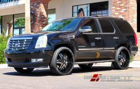 cadillac escalade black rims cadillac escalade wheels custom rim and tire packages