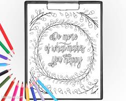 printable coloring page do more of what makes you happy u2013 blursbyai