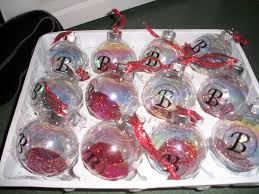 s inspired make your own monogrammed ornaments