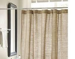 Custom Size Shower Curtains Burlap Shower Curtain Etsy