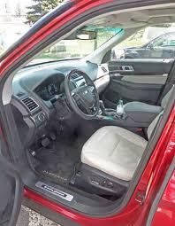 Ford Explorer 2016 Interior Ford Explorer Platinum