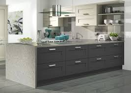 graphite graphite painted kitchen doors roma shaker kitchen