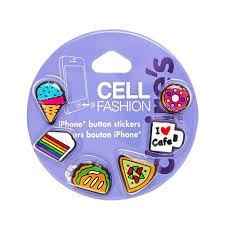 Iphone Home Button Decoration Phone Charms U0026 Buttons Claire U0027s Us