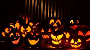 repeating halloween background halloween pumpkin background wallpapersafari