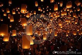 candle balloon asia culture festival traditional photos images pictures