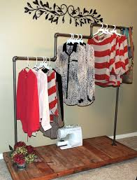 Galvanized Pipe Clothes Rack Love This Clothing Rack Bet It Would Be Just As Cute Made From