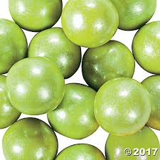 Where Can I Buy Gumballs Shimmer Lime Green Gumballs