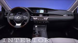 lexus es model years 2018 lexus es 350 interior younger brother of the gs 350 youtube