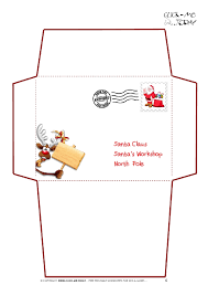 letter to santa template printable black and white santa envelope gidiye redformapolitica co