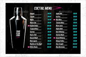 drink menu template free 28 drink menu templates free sle exle format