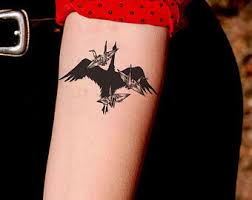 tiny bird tattoos etsy
