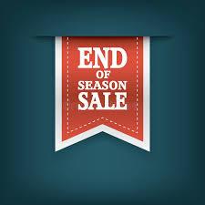 cheap ribbon for sale end of season sales ribbon elements sale stock vector