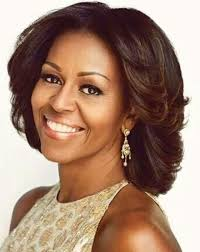 does michelle wear a wig michelle obama medium wavy wig real lace wigs sheswigs com
