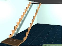 how to install wood stairs 8 steps with pictures wikihow