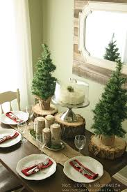christmas table decorations ideas glass vase for christmas table