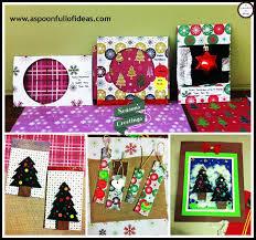 christmas photo frame cards christmas lights decoration