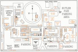 Washington State Fair Map by Fairgrounds Map The Big Butler Fair