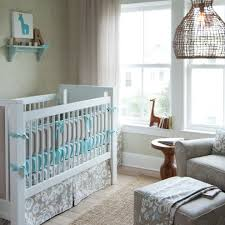 mini crib bedding sets in nursery transitional with accent chair