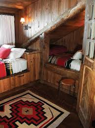 Cabin Bedroom Furniture 10 Cozy Cabin Chic Spaces We Re Swooning Hgtv S Decorating
