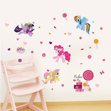 online get cheap baby fox bedroom aliexpress alibaba group little pony cute baby wall sticker removable decoration kids bedroom decal home decor stickers