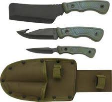 cleaver hunting knife sets ebay
